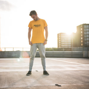 Epic yellow AQUILA shirt