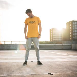 Epic yellow AQUILA shirt
